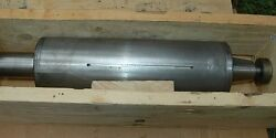 Grinding Spindle From Huffman Grinder 4-1/2 Diameter Ccw Rotation