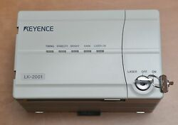 Keyence Ccd Laser Displacement Sensor Lk-2001 And Lk-031 With Rd50r