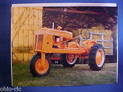 1941 Massey Harris Of Canada Cle-trac Model Gg Calendar Photo For Easy Framing