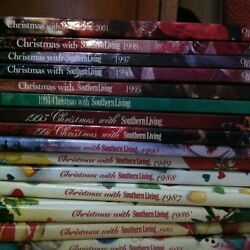Christmas With Southern Living Cookbooks 1981- 2001