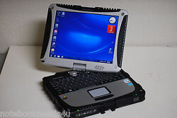 Panasonic Cf-19 Touch Screen Tablet Toughbook Win 7 Pro 3gig 250gb Office 2007