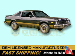 1979 Dodge Aspen R/t Rt Complete Decals And Stripes Kit