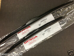 Genuine OEM Honda 08 - 12 Accord 4 Dr & Crosstour Front Windshield Wiper Blades