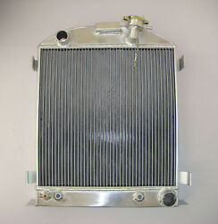 1935-36 Aluminum Radiator-chevy-engine Ford-grill-shells 3 Row Stock-height 35
