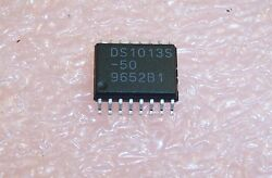 Qty 20 Ds1013s-50 Dallas Semi 3-in-1 Delay Line Soic-16 Package
