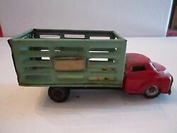1950's Mar Line Toys - Freight Truck - Good Condition - Tub G