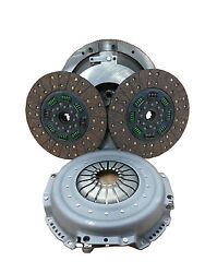 Valair Organic Dual Disc Clutch W/hyd 05.5 And Up Dodge Cummins Qg56ddsn-org