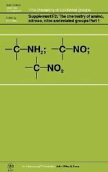 New The Chemistry Of Amino, Nitroso, Nitro And Related Groups By Patai Hardcover