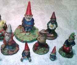 Huge Lot Of 8 Tom Clark Gnomes Forest Miles Dailey Bumper Shorty Sea Clarence