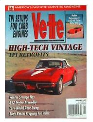 Vette Chevy Corvette January 1997 97 From Very Nice Private Estate Collection