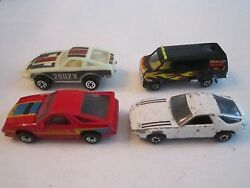 4 toy cars zylmex 84 matchbox more mb 1