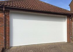 Electric Aluminium Remote Control Roller Garage Doors Made To Size 7ft To 16ft