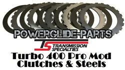 TSI T 400 Turbo 400 TH 400 Pro Mod Clutches And Steels For TSI Pro Mod Drum $79.99