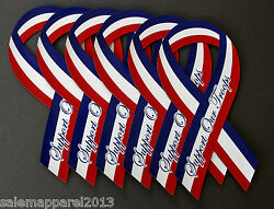 Support Our Troops Ribbon Magnet Car Auto Refrigerator Fridge Kitchen - Lot Of 6
