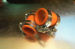 Yamaha Banshee Rubber Exhaust Pipe Clamps All Years Fmf,dg, Factory Orange