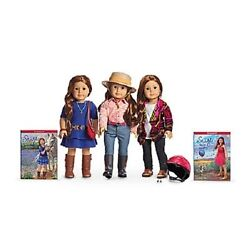 American Girl Doll Saige's Starter Set Hat Accessories Sweater Parade Outfit +