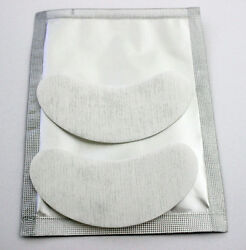 Lint Free Under Eye Gel Patches 500 Pairs Eyepads For Eyelash Extensions
