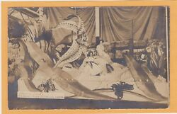 Real Photo Postcard Rppc - Electric Float Portland Rose Festival 1909 Butterfly