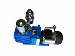 Rotary Vacuum Pump 4.4cfm With Oil Mist Remover And Inlet Filter