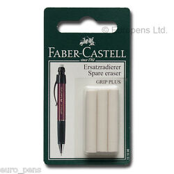 Papermate Phd Ultra Pencil Or Faber- Castel Spare Eraser Refill Pack Of 3