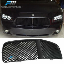 For 05-10 Dodge Charger Mesh Style Front Hood Bumper Grille Grill Abs Black