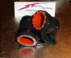 Yamaha Banshee Exhaust Pipe Clamps All Years Fmf,dg, Factory Black