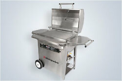 Wilmington Cape Fear Deluxe Stainless Steel Gas Bbq Grill