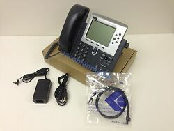 Cisco Cp-7961g Voip Phones + Ac Adapter + Cat 6 Cable + Quantity Available