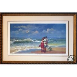 Lucelle Raad Beach Buddies Serigraph On Paper