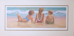 Lucelle Raad Lazy Days Serigraph On Paper
