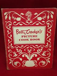 1950 Betty Crockerand039s Picture Cook Book 1st Edition 4th Printing 5 Ring Binder