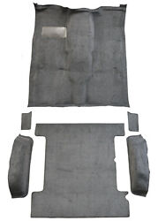 Replacement Flooring Set Complete For K5 Blazer 13619-162 Mass Backing