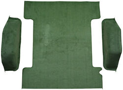 Replacement Flooring Set Cargo Area For 74-77 Gmc Jimmy 1902-162 Mass Backing