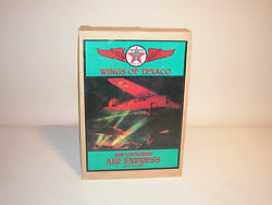 1993 Wings Of Texaco 1929 Lockheed Air Express Bank 1st In Series Mint Mexico
