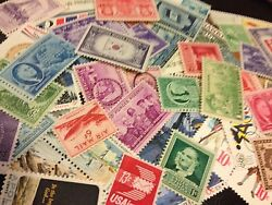 400 Mnh All Different Us Stamps -fill 400 Album Spots For One Low Price
