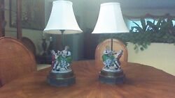 Vintage Lamps and Figureens
