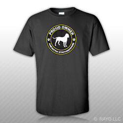 Proud Owner American Staffordshire T Shirt Tee Shirt Free Sticker dog canine pet