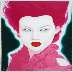 Feng Zhengjie And039chinese Portrait 38and039 2008 Signed Numbered And Dated Mint