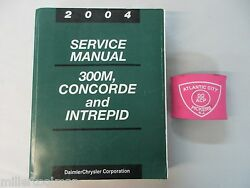 2004 CHRYSLER 300M CONCORDE DODGE INTREPID SERVICE SHOP REPAIR MANUAL