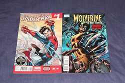 Amazing Spider Man And Wolverine Bti 1 All New Marvel Now 2014 1st Printing Lot 2