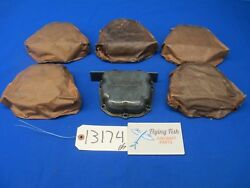 Lot Of 6 Continental Engine Cylinder Head Rocker Box Cover Plate 532450d 13174