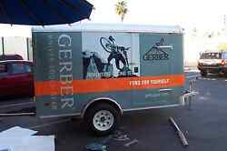 Full Color Custom Vinyl Vehicle Wrap 6and039x12and039 - All Sizes