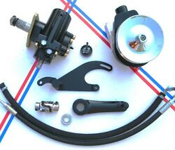 55 56 57 58 59 Chevy Gmc Truck Power Steering Conversion