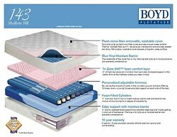 Boyd 143 Shallow Fill  Water Bed-5 Different Bladder options! Pick SizeBladder!