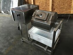 Meat Poultry Tumbler Marinator Bloating Mixer Machine S/s