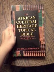 African Cultural Heritage Topical Bible - Niv - Bible