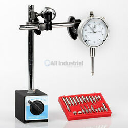 Dial Indicator Magnetic Base And Point Precision Inspection Set