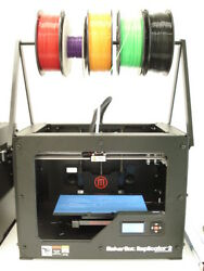 Makerbot Replicator 2 Overhead Spool Holder. Change Material Super Fast And Easy