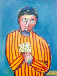 Auguste Blackman - ' Hope '-oil On Canvas -signed By The Artist -australian Art