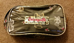 Betsey Johnson Betseyville Cosmetic Bag Small Designer MINT